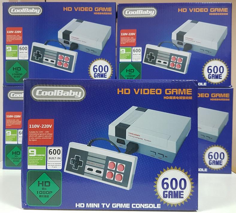 48e52e8375143 Игровая HDMI 8 битная приставка CoolBaby HD Video Games Dendy Nintendo Nes 8  Bit