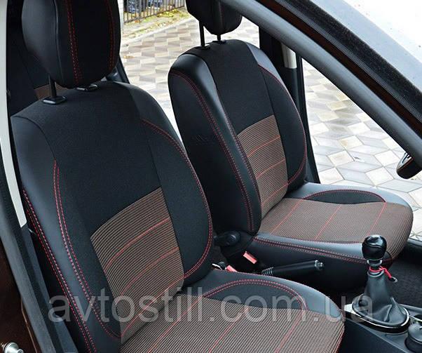 Чехлы на сидения Renault Duster