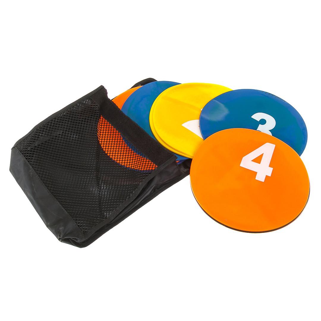 Маркер тренировочный ( набор 5 цветов 10 шт ) + сумка