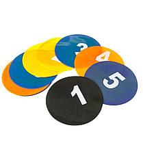 Маркер тренировочный ( набор 5 цветов 10 шт ) + сумка, фото 2