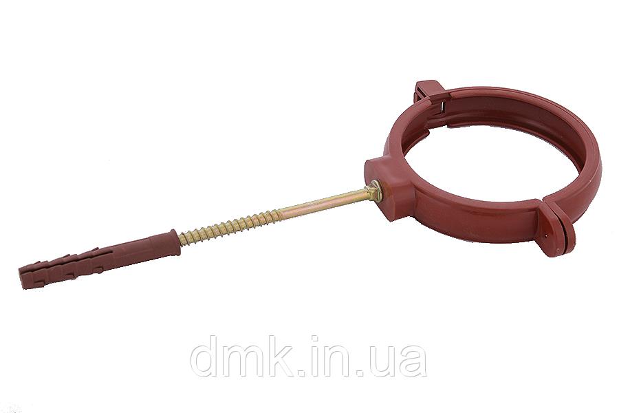 Держак труби Profil пласт. L100 130 цегляний