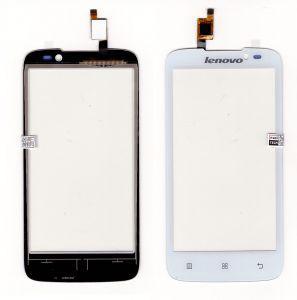Тачскрин сенсор Lenovo A516 белый