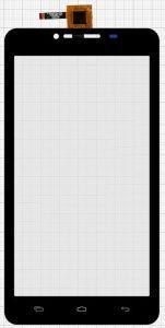 Тачскрин сенсор Fly iQ4601 Era Style 2 черный