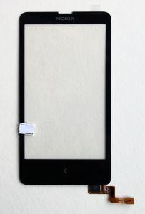 Тачскрин сенсор Nokia X Dual Sim RM-980 черный