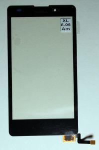 Тачскрин сенсор Nokia XL Dual Sim RM-1030 черный