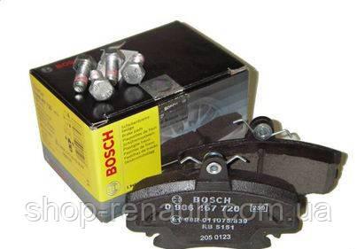 Гальмівні колодки передні Bosch 0 986 467 720 6001547619; 6001547911; 7701208265
