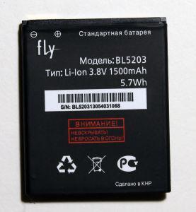 Аккумулятор для Fly IQ442 (BL5203) 1500mAh