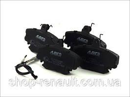 Гальмівні колодки передні ABE C1P000ABE LOGAN, SANDERO;RENAULT CLIO I