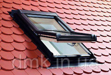 Вікно мансардне Designo WDF R48 H N WD AL 09/14