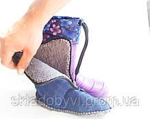 Детские сапожки с пены ЭВА и утеплителем оптом Крок Б4 фиолетовый , фото 2