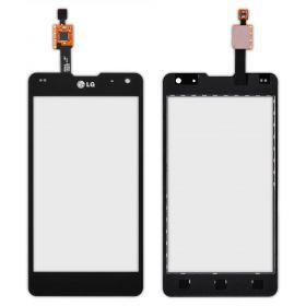 Тачскрин сенсор LG E970 Optimus черный