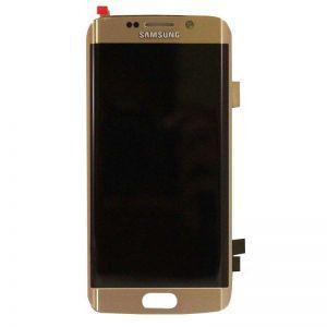 Дисплей с тачскрином Samsung G928 Galaxy S6 EDGE plus золотистый оригинал (GH97-17819A)