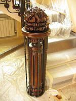 Эксклюзивные опорные столбы и колоны из дерева