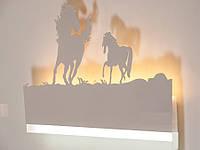 """Светодиодный светильник бра """"картина"""" цвет белый 9289-5, фото 1"""