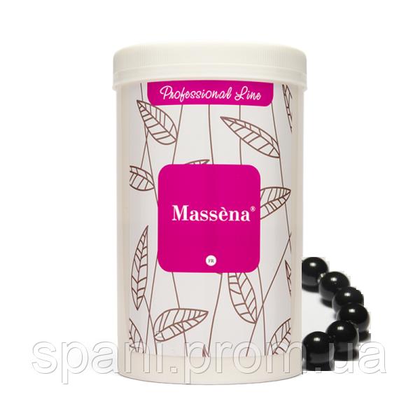 Massena Альгинатная маска Черная жемчужина (детоксирующий уход для стрессовой кожи) 300 гр