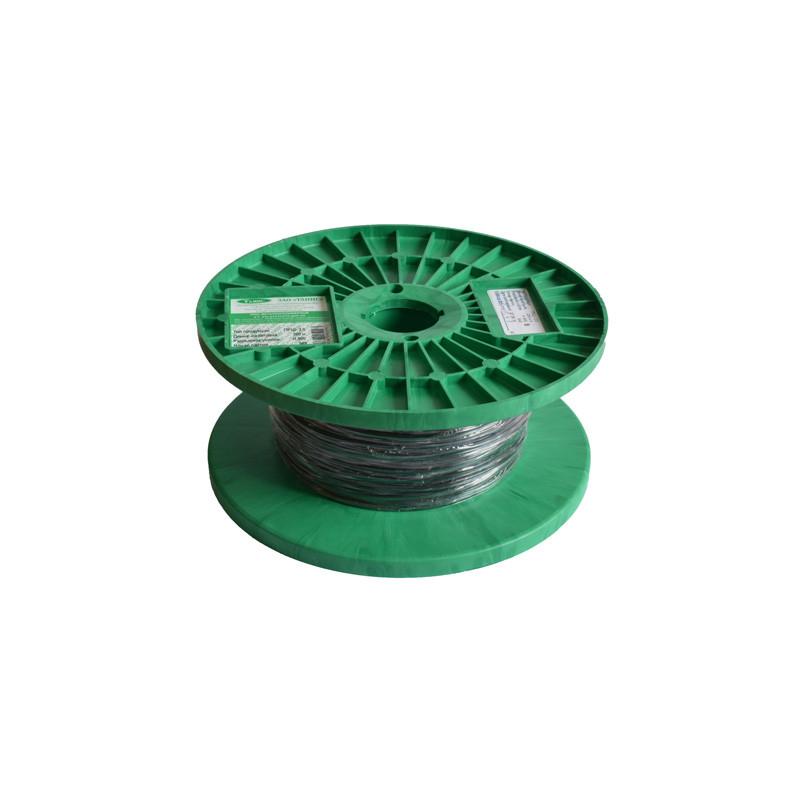 Трос металлополимерный ПРШ-2,0 (шпалерный) (бухта - 200 м)