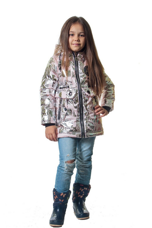 Демисезонная куртка на девочку Золушка
