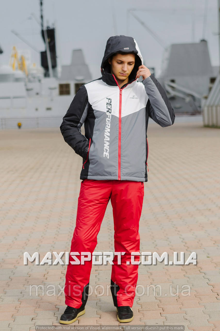 Мужская лыжная куртка Freever (8138)