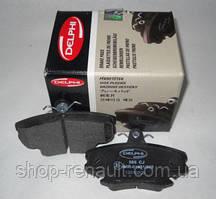 Гальмівні колодки передні (комплект) DELPHI, LP885 6001547911; 7701208265