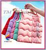 Оптом яркие жилеты теплые (пошив под заказ от 50 шт.)