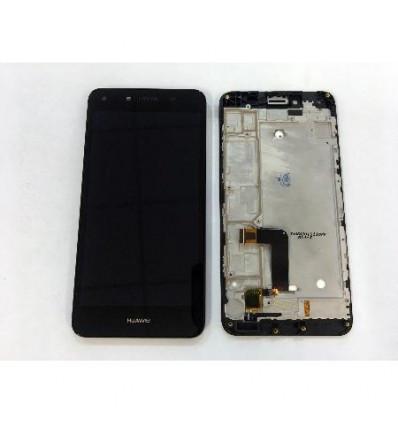 Дисплей для Huawei Y5 II (CUN-U29 /CUN-L21)/Honor 5 с тачскрином и рамкой черный Оригинал