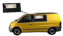 Боковое стекло Mercedes Viano 1996-2003 переднее левое