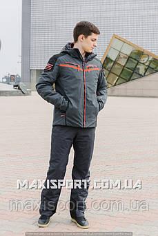 Мужская лыжная куртка Freever (7158) 3XL, Оранжевый