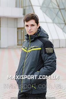 Мужская лыжная куртка Freever (7158) M, Желтый
