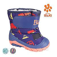 Детские сноубутсы для девочек от фирмы Tom m(20-25)