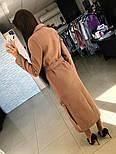 Женское кашемировое пальто с поясом (2 цвета), фото 2