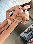 Женское кашемировое пальто с поясом (2 цвета), фото 3