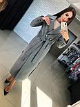 Женское кашемировое пальто с поясом (2 цвета), фото 7