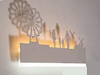 """Светодиодный светильник бра """"картина"""" цвет белый 9288-5, фото 1"""