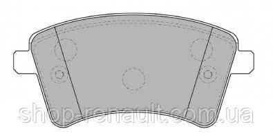 Колодки тормозные передние (к-т) PROFIT 5000-4185 Kangoo II без датчика износа