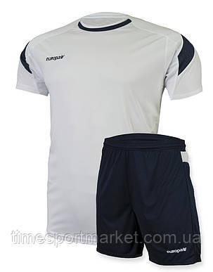 Футбольная форма для команд Europaw 10-01 белая (Реплика), фото 2