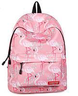 Школьный рюкзак Розовый Фламинго