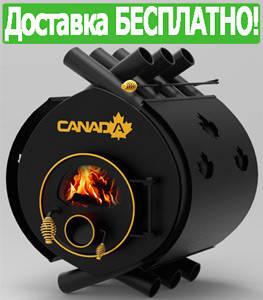 Печь Булерьян Canada Классик стекло+перфорация (11 кВт, до 200 куб.м), фото 2