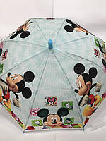 Зонтик-трость детский Микки арт. 201, фото 1