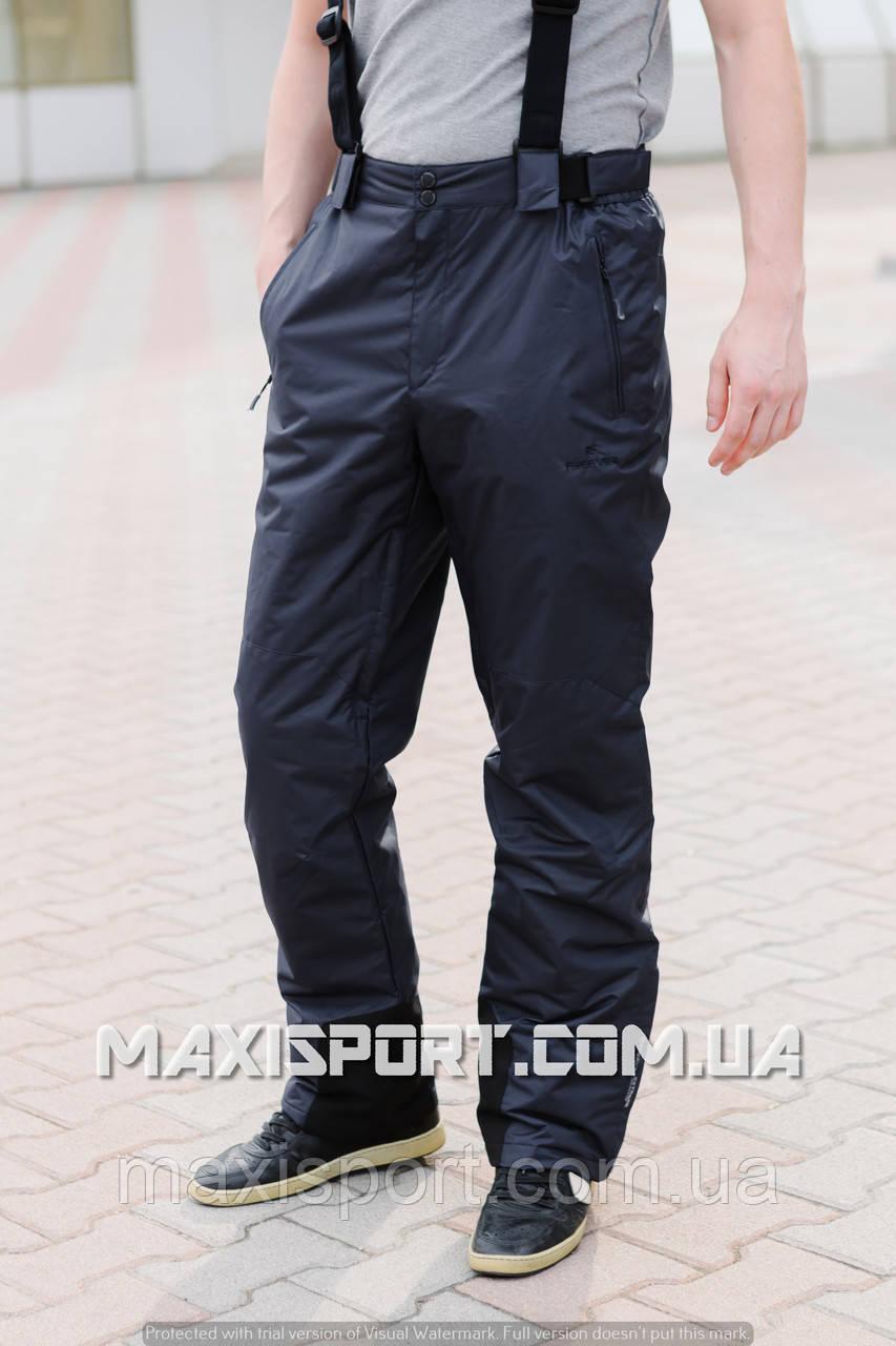 Мужские горнолыжные брюки темно - серые Freever (6757)