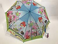 Зонтик-трость детский Angry Birds арт. PLS4082, фото 1