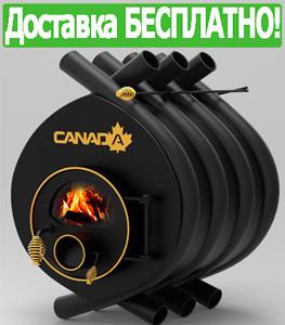 Печь Булерьян Canada Классик со стеклом (6 кВт, до 100 куб.м)