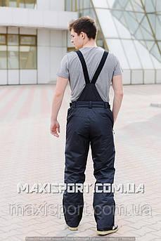 Мужские горнолыжные брюки темно - серые Freever (6757) 2XL