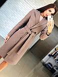 Женское кашемировое пальто с поясом (4 цвета), фото 2