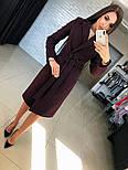Женское кашемировое пальто с поясом (4 цвета), фото 3