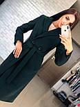 Женское кашемировое пальто с поясом (4 цвета), фото 8