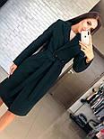Женское кашемировое пальто с поясом (4 цвета), фото 9