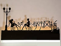 """Светодиодный светильник бра """"картина"""" цвет черный 9289-3"""