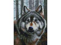 Алмазная вышивка Белоснежка «Волк» 347-ST-S