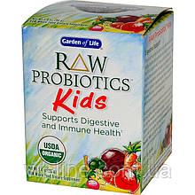 Garden of Life, Сырые пробиотики, для детей (96 г)