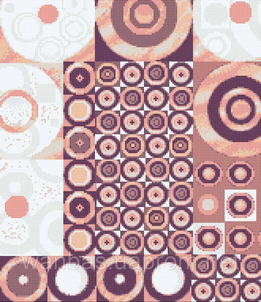 Мозаичное панно D-CORE 1800*2100 мм. pb03.